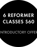 6 classes for $60