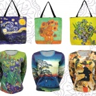 Art Print Tops and Bags
