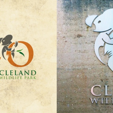 Cleland Wildlife Park logo development