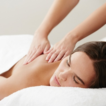 Relaxation massage at endota spa