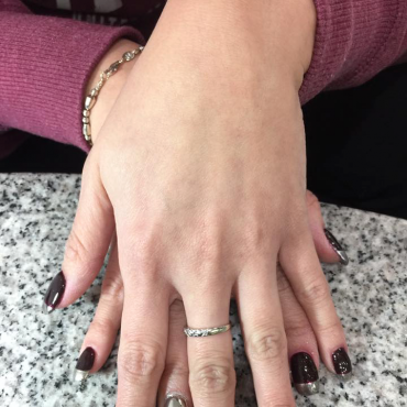 Shellac with touches of Chrome