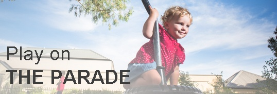 Play on the Parade ad banner