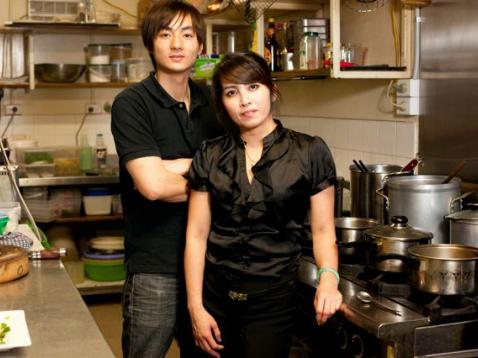 Meet Long Dinh and Julie Nguyen owners of Cafe Saba